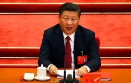 Xi was given a renewed mandate following the first meeting Wednesday of the new Central Committee that was elected at the party's twice-a-decade national congress.