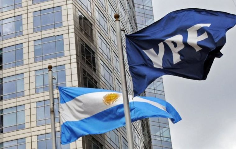 YPF plans to invest US$21.5 billion in the country from 2018 to 2022 and increase oil production by 26%, the company said in a statement on Wednesday.