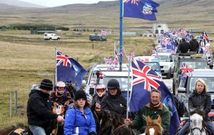 We must now do our part in asserting that this country belongs neither to Argentina nor Great Britain, but to Falkland Islanders.
