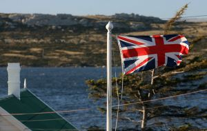 "The flying of the Union Flag encourages this unhelpful misconception that we are still a colony and ""owned"" by Britain"