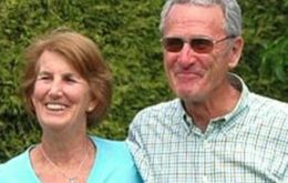 The elderly landowners, Werner Luchsinger and Vivianne McKay, died while defending themselves in the arson attack which completely destroyed their home