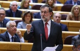 The Senate gave Mariano Rajoy the go-ahead through the Spanish constitution to apply unprecedented measures in Catalonia