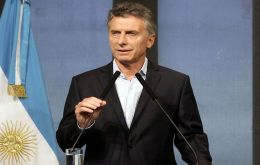 The details had been anticipated last week by Macri to his main Let's Change coalition leaders and incumbent members of Congress.