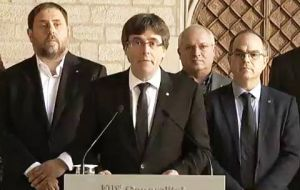 Spanish prosecutor have called for rebellion charges to be brought against Puigdemont and other organizers of Catalonia's banned independence referendum