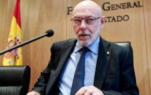 Spain's Attorney General José Manuel Maza called on Monday for rebellion, sedition and misuse of funds charges to be brought against Catalan leaders.