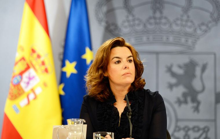 The Spanish central government took direct control of Catalonia on Monday, replacing sacked officials.