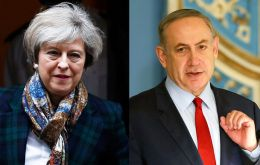 Netanyahu will have dinner on Thursday with Mrs. May. Labour leader Jeremy Corbyn declined an invitation to the event and is expected to send a representative