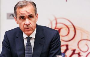 With the economy growing at rates above its speed limit, inflation is unlikely to return to 2% target without some increase in rates, said Governor Mark Carney.