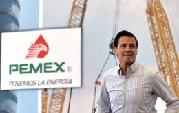 Peña Nieto, who pushed through Congress a sweeping energy reform in 2013 that ended Pemex' monopoly, made the announcement at the company's Tula refinery.