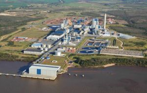Fray Bentos pulp mill started operations in 2007 and is one of the world's most modern and efficient pulp mills with an annual production capacity is 1.3m tons