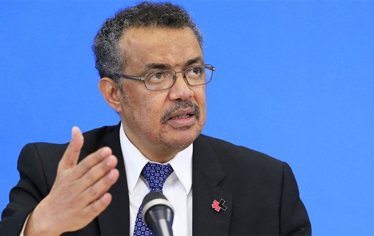 """A lack of effective antibiotics is as serious a security threat as a sudden and deadly disease outbreak,"" says Dr Tedros Adhanom Ghebreyesus, WHO Director-General"