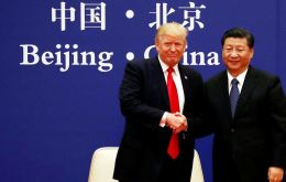 Speaking alongside Xi in the Chinese capital, Trump said it was disappointing that his predecessors had let the bilateral trade balance get out of kilter. (Pic Reuters)