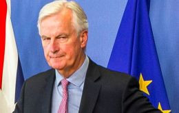 "Barnier suggested UK would have to clarify its position on what it would pay to settle its obligations, if talks were to have achieved ""sufficient progress"""
