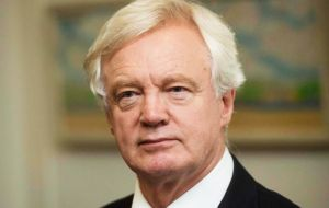"David Davis insisted good progress was being made across the board, and that the negotiations had narrowed to a ""few outstanding, albeit important, issues""."