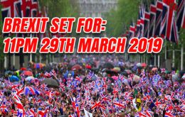 The amendment enshrining Brexit day in law will be considered by MPs when the European Union (Withdrawal) Bill returns to the Commons next week. (Pic Anygator.com)