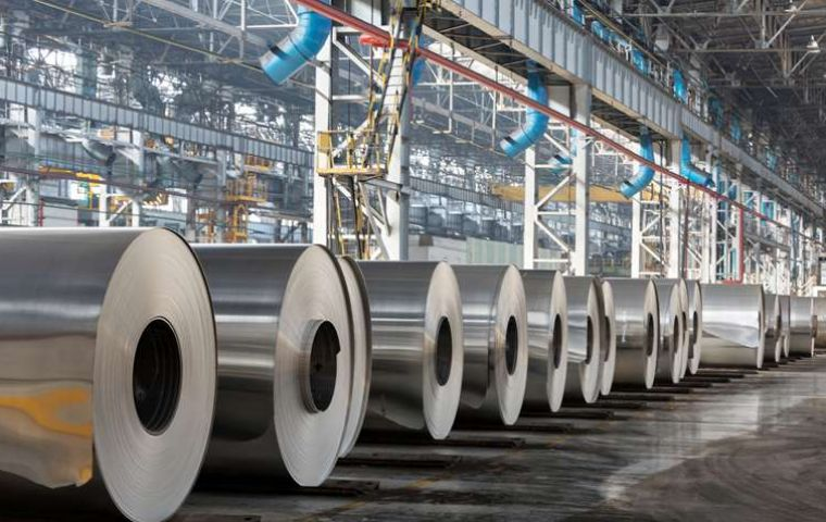 Steel production expectations for 2017 are that it will reach 1.1 million mt, resuming the good levels for the company.