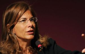 "Emma Marcegaglia, president of BusinessEurope, said: ""Business is extremely concerned with the slow pace of negotiations and the lack of progress""."