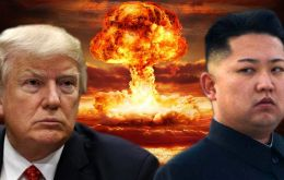 "Trump vowed to unleash ""fire and fury like the world has never seen"" on North Korea if it continued to expand its atomic weapons program."