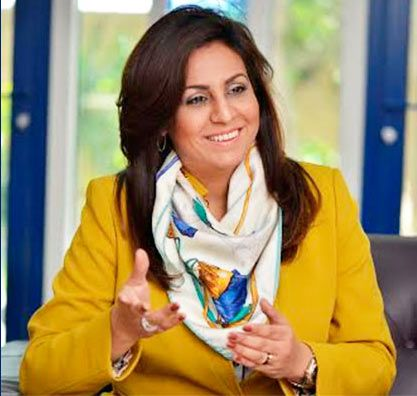 A woman deputy CEO of BATELCO, with telecoms interests in Falklands