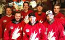 The Calgary Citizens from Alberta are about to graduate from beer league hockey to the international stage, and with encouragement from Canada's Justin Trudeau