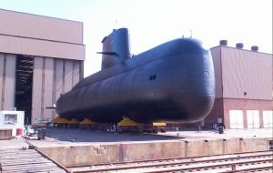 The German built submarine was launched in 1983, and incorporated to the Argentine navy in 1985. In 2008/10 it underwent in depth maintenance and refitting
