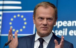 """I made it very clear to Prime Minister May that this progress needs to happen at the beginning of December at the latest"", Donald Tusk said"
