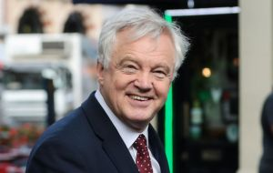 "The EU chief was scathing when asked about comments by British Brexit negotiator David Davis: ""I really appreciate Mr. Davis's English sense of humor."""