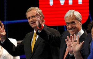 Analysts said Piñera will have to appeal to the far right for support in the runoff, after extreme right-candidate Jose Antonio Kast took 7.9% of the votes.