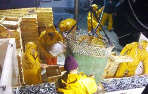 Over 38 million people work in capture a fishery which is considered to be one of the world's most hazardous occupations.