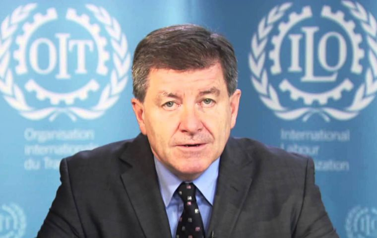 """The Work in Fishing Convention sets the basic standards of decent work in the fishing industry,"" said ILO Director-General Guy Ryder"