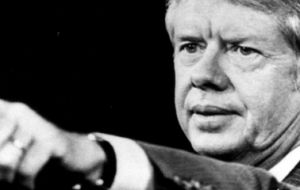 President Carter, 1977 to 1981, was recognized for his denouncement of the Argentine dictatorship (1976 – 1983) and for his support of human rights