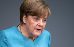 """If new elections were to come . . . I would accept that. I'm not afraid of anything,"" Merkel said on ZDF public television."