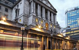 The Bank of England has said it is braced for the potential loss of 75.000 finance jobs following Britain's departure from the European Union.