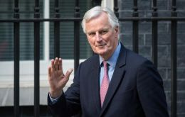 "Michel Barnier said UK must commit to a ""level playing field"" on issues like fair competition, food safety, social protections and environmental standards."