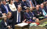 """We are at a turning point in our history,"" Hammond told the House of Commons. ""And we resolve to look forwards, not backwards."""