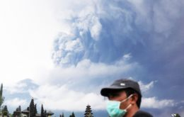 Geological agency head, Kasbani said the alert level was raised because the volcano has shifted from steam-based eruptions to magmatic eruptions.