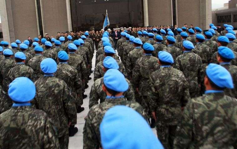 The U.N. Security Council approved this month the deployment of an additional 900 peacekeepers to protect civilians in the impoverished landlocked nation