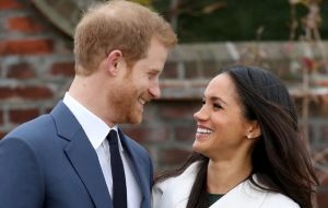 """His Royal Highness the Prince of Wales is delighted to announce the engagement of Prince Harry to Ms Meghan Markle"""