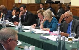 Discussions during the BOTs Joint Ministerial Council at the Foreign Office