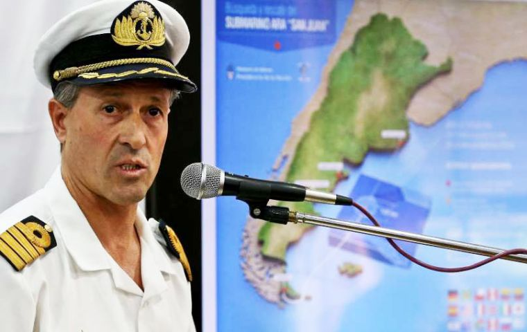 "Navy spokesman Enrique Balbi said the rescue mission had ""extended for more than twice what is estimated for a rescue."""