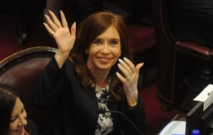 Cristina Fernandez is now a Senator and in Argentina, parliamentary immunity protects against arrest but does not prevent judicial cases from going ahead.