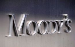 Moody's raised Argentina's rating to B2 from B3 with a stable outlook, Moody's analyst Gabriel Torres said in a statement.