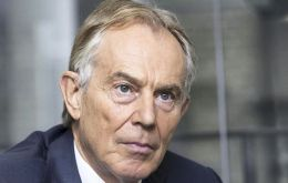 """We cannot allow some kind of collateral damage or unintended consequence of Brexit to [be] the recreation of a border on the island of Ireland,"" Tony Blair said."