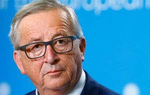 """She is a tough negotiator, and not an easy one,"" Juncker said reflecting concern in Brussels that concessions by Ms May could fuel a push to unseat her."