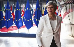"""We will reconvene before the end of the week and I am also confident that we will conclude this positively,"" Ms May said."