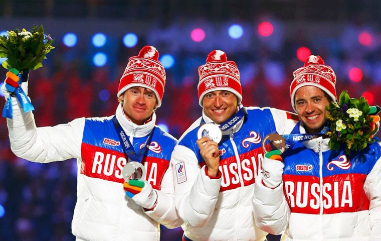 Russia finished top of the medals table at its own 2014 Winter Olympics in Sochi, but will not be competing in  2018 Games in South Korea that run from Feb. 9-25.