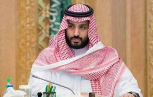 Crown Prince Mohammed bin Salman, 32 is hoping to recover much of US$ 100bn estimated to have been embezzled by other princes and top officials
