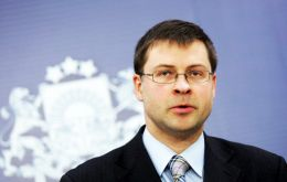 """Tax havens will not disappear from our radars and we will keep the pressure on,"" EU vice president Valdis Dombrovskis said"