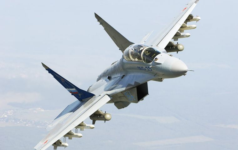 Punchuk told TASS Argentina is interested in buying Russian MiG-29 fighters, which are perfectly suitable for solving Argentine Air Force tasks