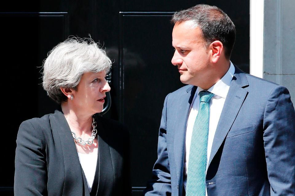 Image result for varadkar and may